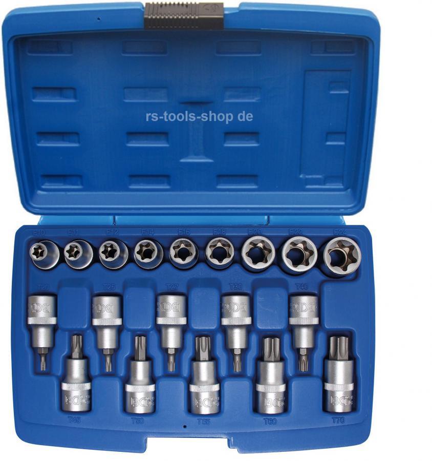 Innen Torx Werkzeug Set 9-tlg Schraubendreher Satz Torxschlüssel Schraubenzieher