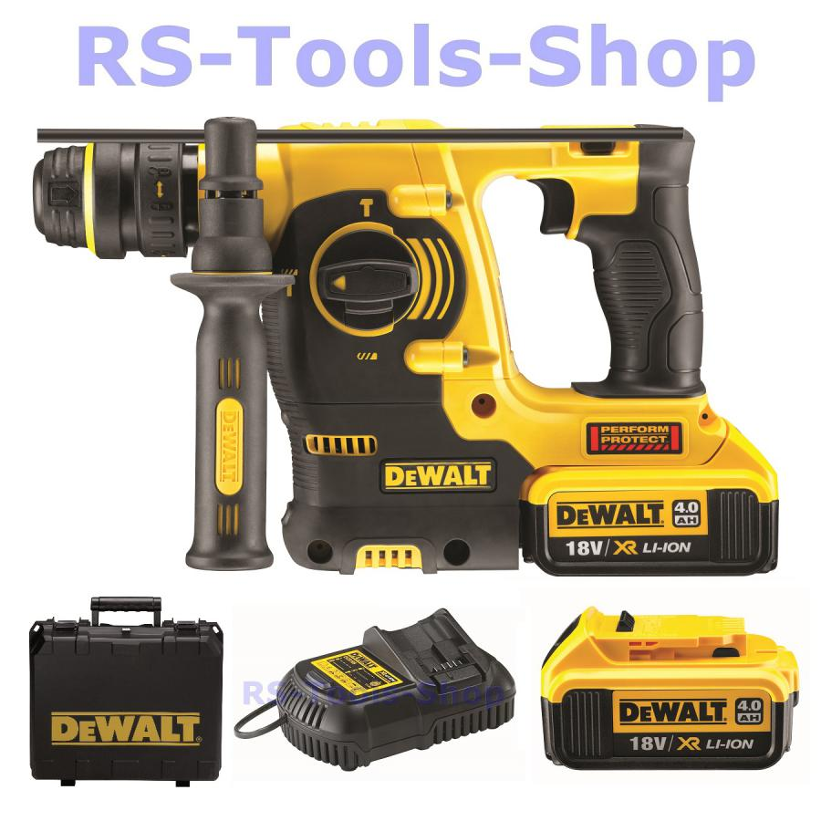 dewalt dch254m2 18 0 volt sds plus akku kombihammer bohrhammer dch 273 p2 t 274 rs tools shop. Black Bedroom Furniture Sets. Home Design Ideas