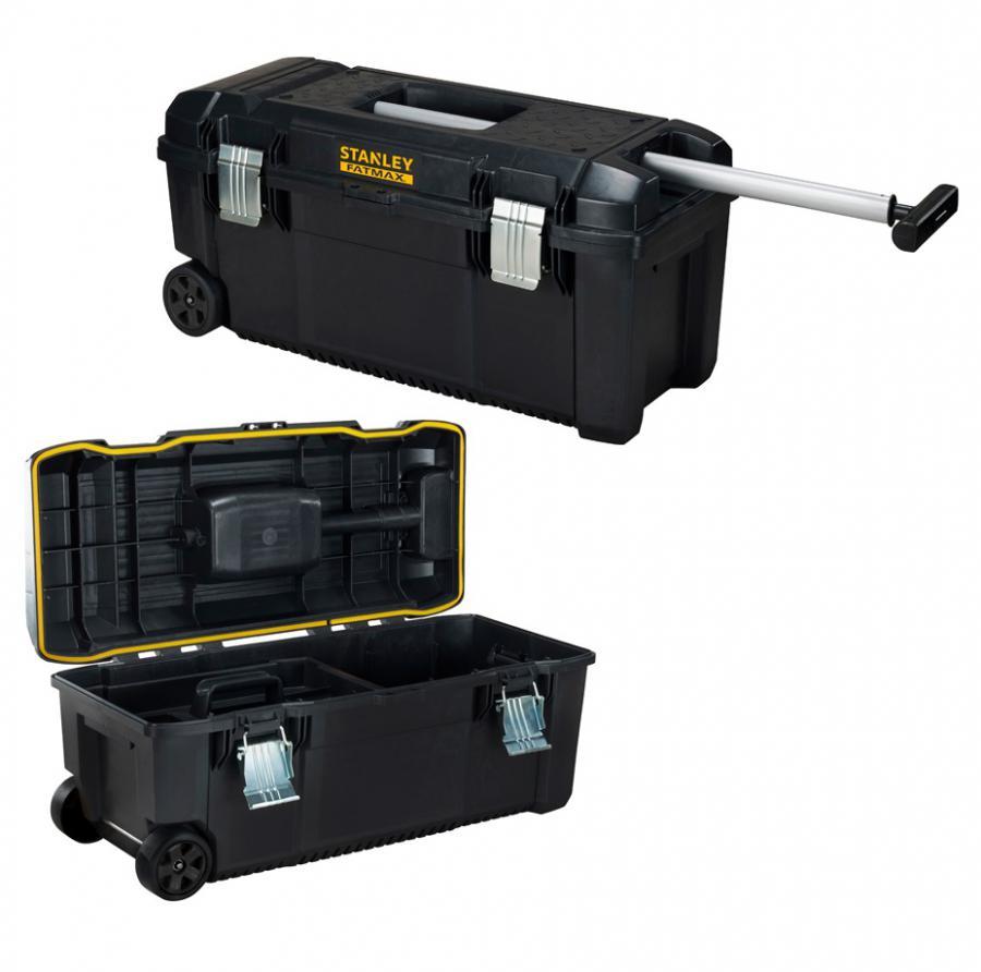stanley fatmax werkzeugkoffer fmst1 75761 28 werkzeugbox werkzeugtrolley rs tools shop. Black Bedroom Furniture Sets. Home Design Ideas